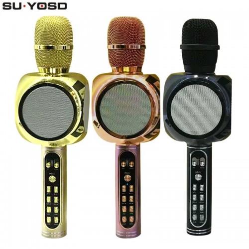 Портативная Колонка-Микрофон Magic Karaoke SU·YOSD YS-90 (Bluetooth, USB, TF, AUX)