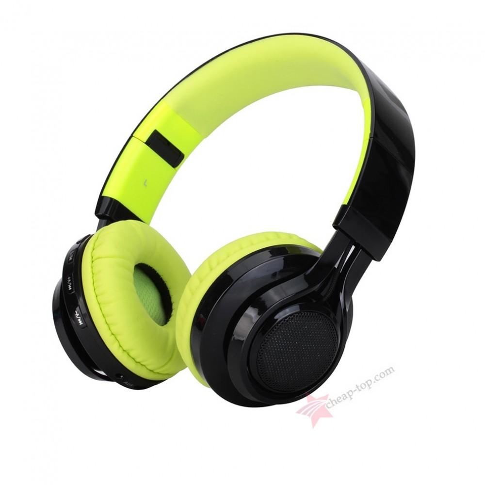 Беспроводные наушники с LED эквалайзером Wireless AB-005 (Bluetooth ... ba24f63702a81