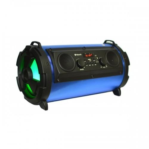 Портативный стерео бумбокс Rojem HBPC1602 (Bluetooth, USB, micro SD, FM, AUX, Mic)