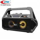Беспроводной бумбокс iTK T-357 (Bluetooth, USB, micro SD, FM, AUX, Mic)