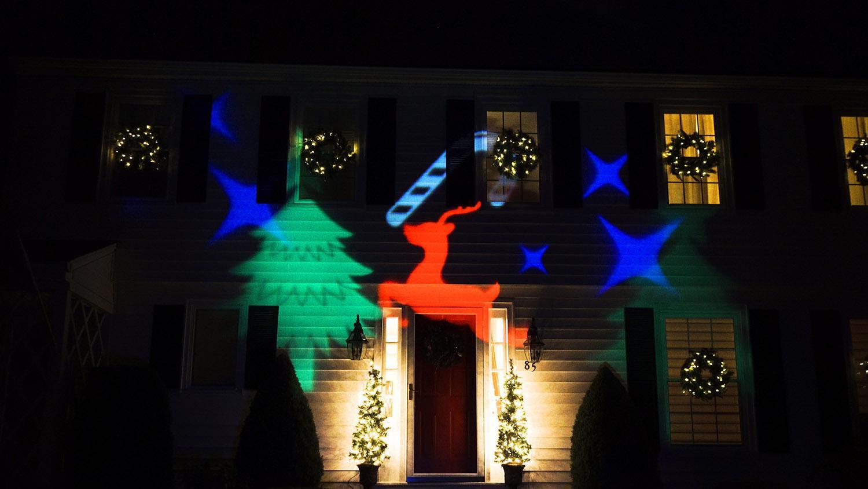 проектор рождество