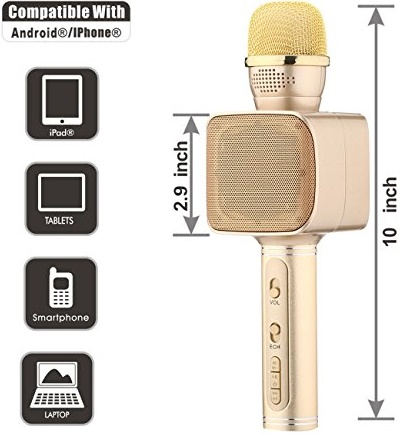 51N+Mip8d2L Пойте в своё удовольствие: Представляем караоке-микрофон Su Yosо YS-68
